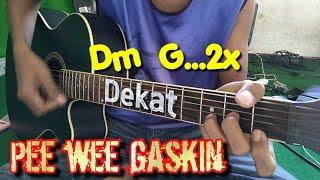 PEE WEE GASKIN - DEKATKUNCI GITAR DAN By Tokey tky