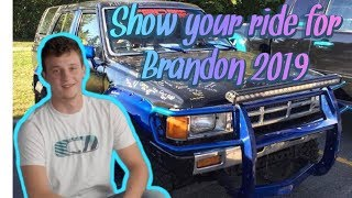 Show Your Ride For Brandon 2019   Cruise for Brandon