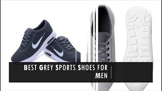 Grey  Sports Shoes For Men India 2018