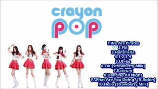 Crayon Pop (크레용팝) - Song Compilation [Part 2]