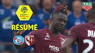 RC Strasbourg Alsace - FC Metz ( 1-1 ) - Résumé - (RCSA - FCM) / 2019-20