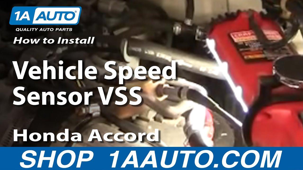 2001 Honda Accord Install