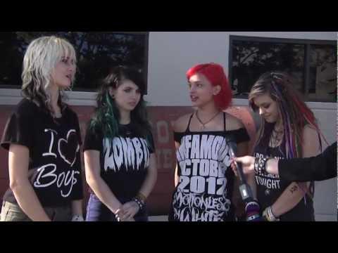 Cherri Bomb Interview - OC Bandstand 10/13/12