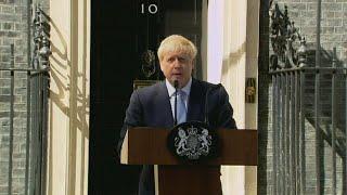 Boris Johnson vows to leave European Union in first speech as U.K. PM