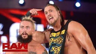 Enzo Amore & Big Cass brauchen keine Mikrofone: Raw, 24. Oktober 2016