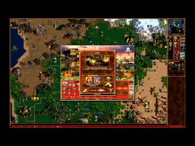 Heroes III: Horn of The Abyss - test nieoficjalnego dodatku - gameplay (lets play)