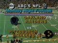 1980 Week 7 MNF - Raiders vs Steelers