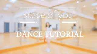 PRODUCE 101 Center of YouㅣShape of You Mirrored Full Dance Tutorial by C ME HK