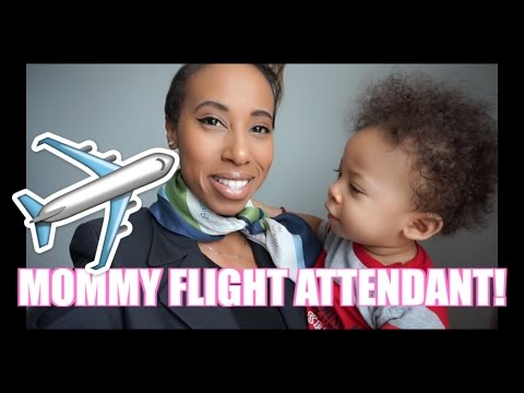 GRWM: MOMMY FLIGHT ATTENDANT!