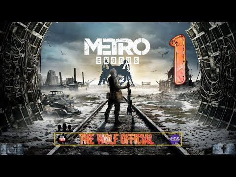Metro Exodus #1 l'inizio di una nuova avventura #thewolfofficial