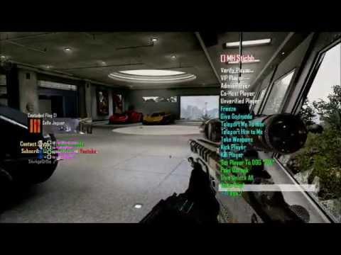 Black ops 2 Sniper Lobby - Elegance v3.1v Mod Menu - Live Gameplay