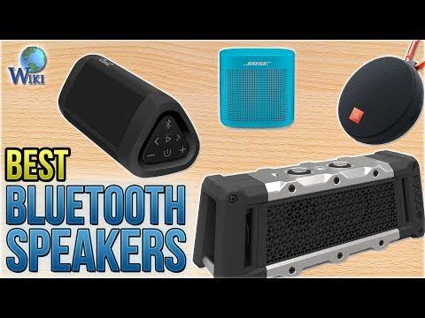 10 Best Bluetooth Speakers 2018