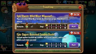 PvZ 2 - Epic Quest - Wild West Wipeout! - Days 26-35