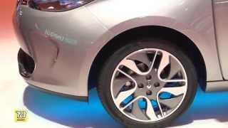 ZOE - новый электромобиль от Renault. Обзор с Парижского Автосалона 2014.