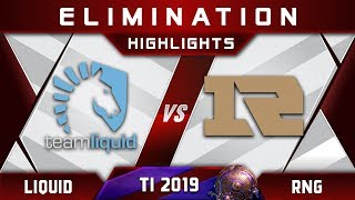 Liquid vs RNG TI9 [TOP 6] $1,200,000 The International 2019 Highlights Dota 2