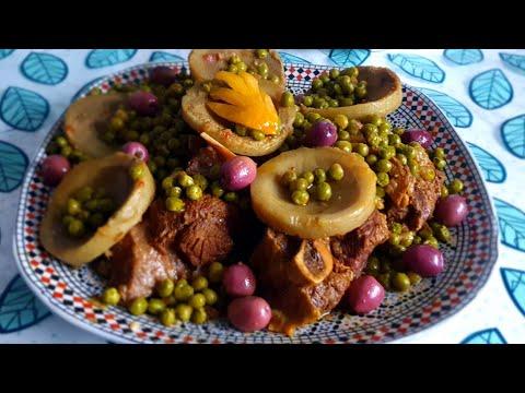 recette-cookeo-:-tajine-boeuf-artichauts-petits-pois