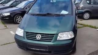 Обзор Volkswagen sharan 2000г 1.8т