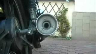 SUZUKI GS 450 E 1988.r EXHAUST/ENGINE SOUND