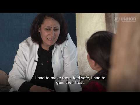 【字幕付き】イラク:ISISの捕虜だった人々の魂を生き返らせる女性医師