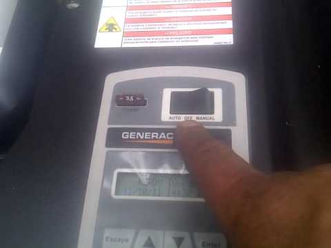 Home Generator Generac 20kw  YouTube