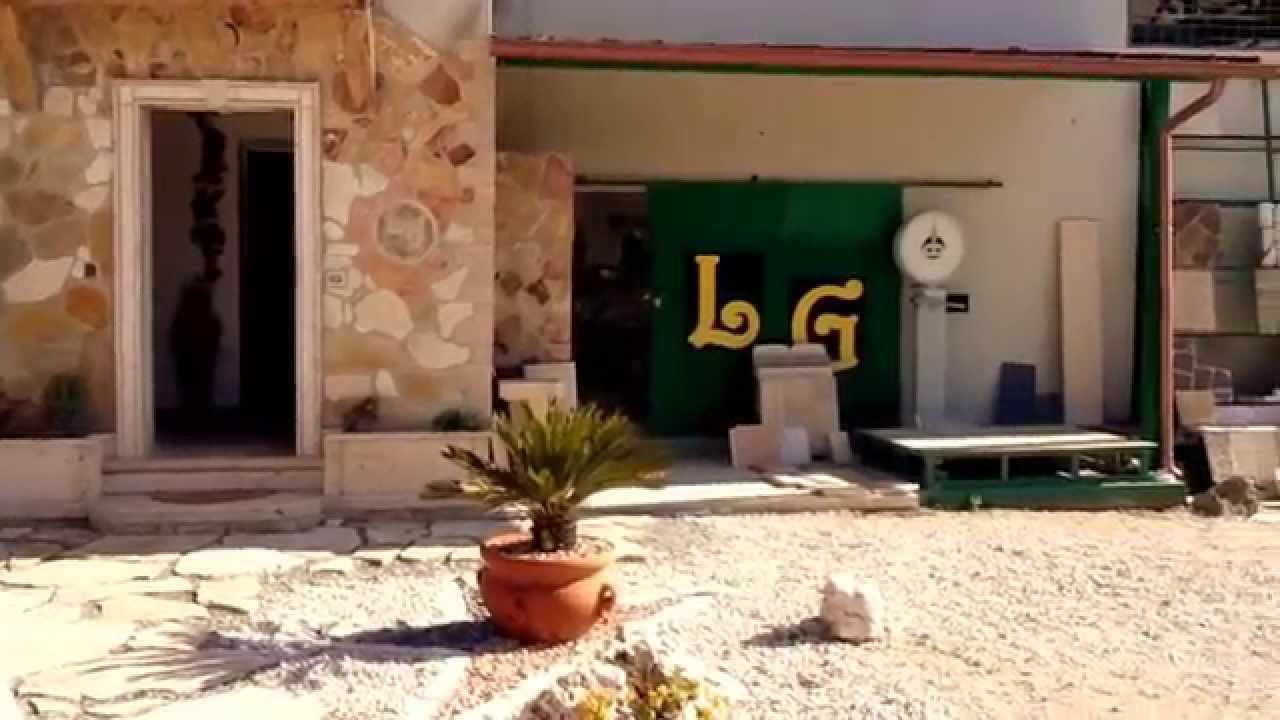 Lg marmi e pietre arredo giardino mosaici fontane youtube for Colmef pietre d arredo