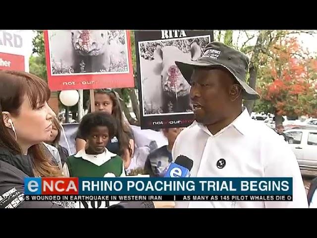 Rhino poaching trial begins