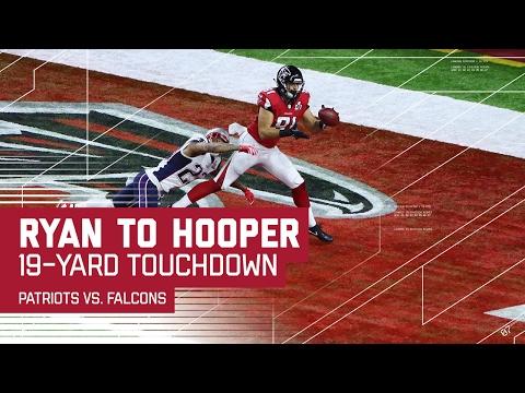 Matt Ryan Hits Austin Hooper for the TD! | Patriots vs. Falcons | Super Bowl LI Highlights