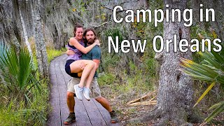 Bayou Camping | New Orleans, Louisiana | Bayou Segnette State Park