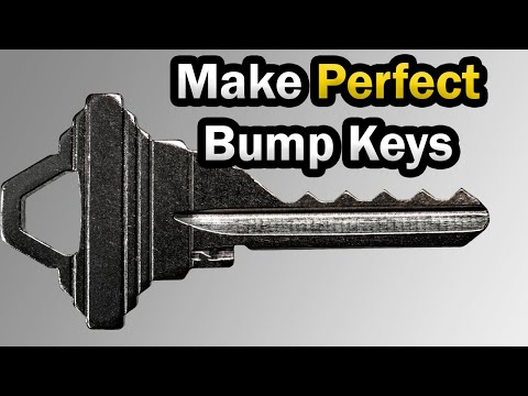 How To Cut A Bump Key || Learn To Make Bump Keys!
