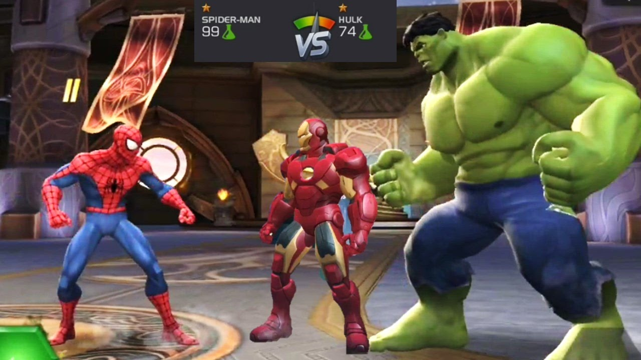 spiderman hulk games