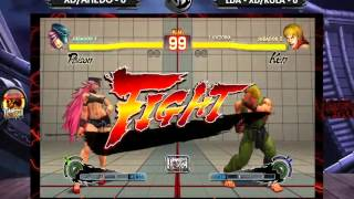 TRIPLE FIGHT   ULTRA STREET FIGHTER IV (PART 1)