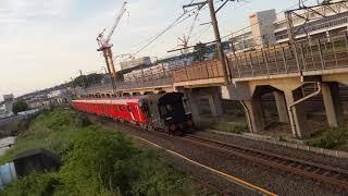 東京メトロ2000系 甲種輸送@笠間大橋 警笛付き!