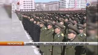 Corée du Nord : Pyongyang prêt à attaquer les USA