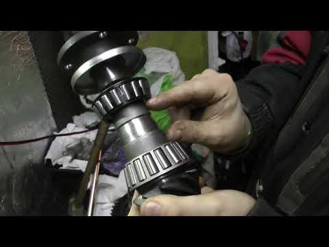 Как заменить подшипник хвостовика заднего моста на ваз 2107