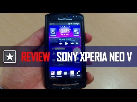 Sony Xperia Neo V  | Review | Audio removed