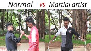 Normal people vs Martial artist | Indian version | Kung-fu #Funny #martialarts