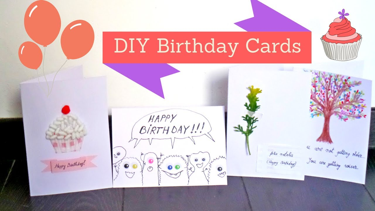Easy and creative birthday card ideas diy handmade birthday cards easy and creative birthday card ideas diy handmade birthday cards crafts by fluffy hedgehog kristyandbryce Images