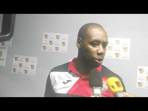 Dennis Lawrence Guadeloupe post match 1