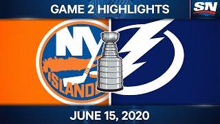 NHL Game Highlights   Islanders vs. Lightning, Game 2 - June 15, 2021