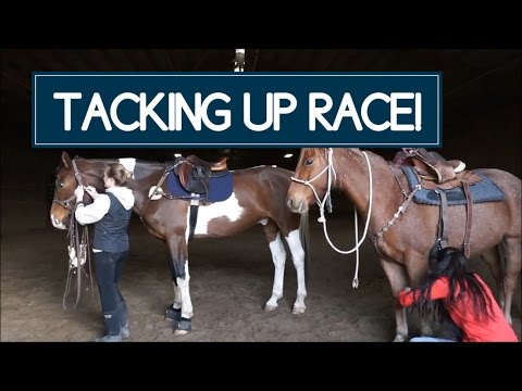 TACK UP RACE // English Vs Western