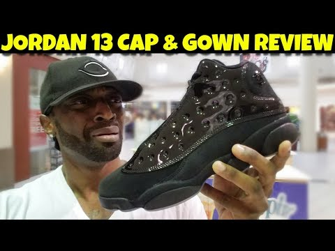 These Jordan 13 Cap & Gown Are COMPLETE TRASH!! Early Review