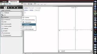 Punktplot i TI-nspire CAS