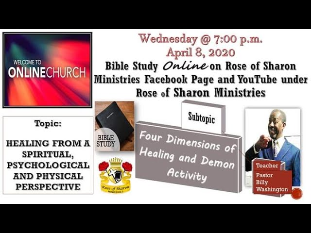 Rose of Sharon Ministries Four Dimensions of Healing and Demon Activity