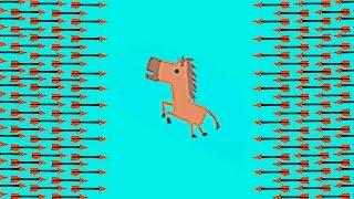НЕПРОХОДИМЫЙ АРБАЛЕТНЫЙ УРОВЕНЬ !!! ЧТО МЫ СОЗДАЛИ??? ( ULTIMATE CHICKEN HORSE )