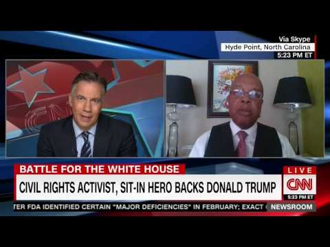 Civil Rights Leader Stands Up For Donald Trump