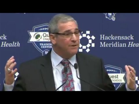 Dave Gettleman Introduced As NY Giants General Manager