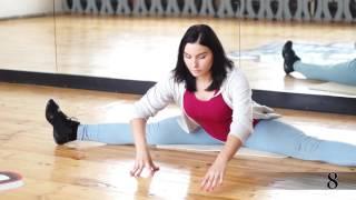 Как сесть на поперечный шпагат / Уроки для начинающих / Танцы / Гомель / Студия танца SLAM