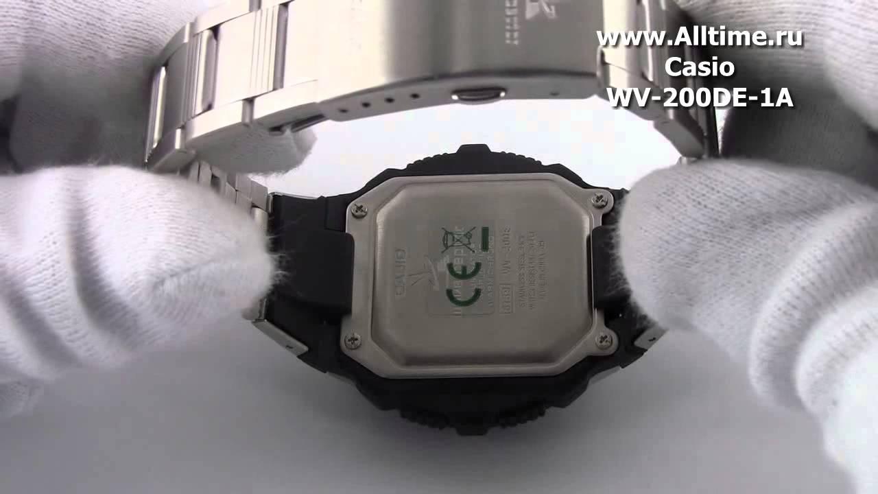 Мужские часы Casio WV-200E-2A Мужские часы Jacques Lemans 1-1816D