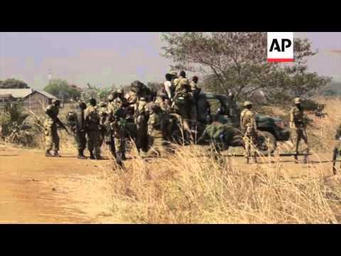 Troops depart capital for frontline near Bor