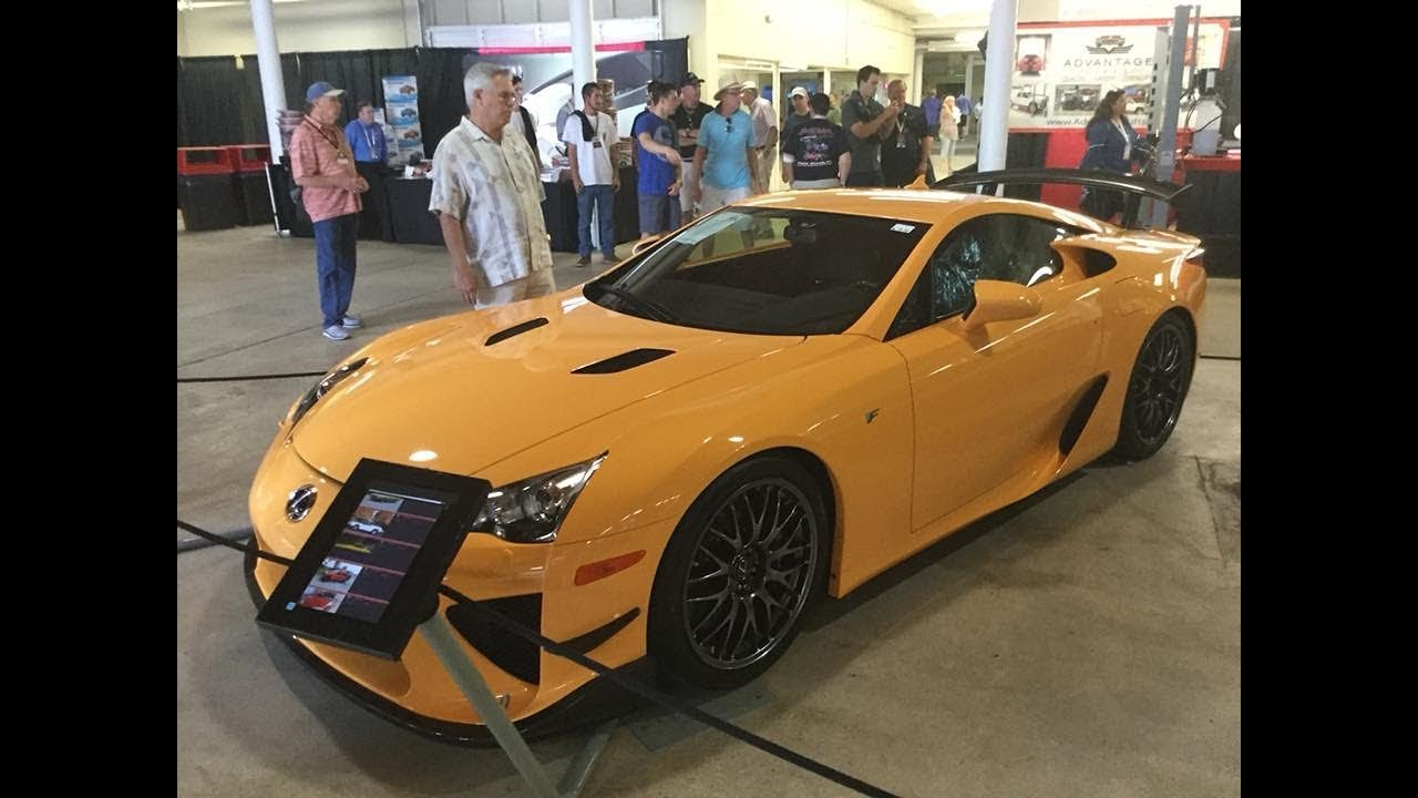 Lexus LFA Nürburgring Package BarrettJackson Auction In - Orange beach car show 2018